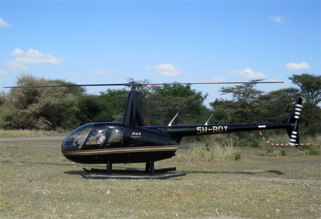 Manyara Ranch Helicopter